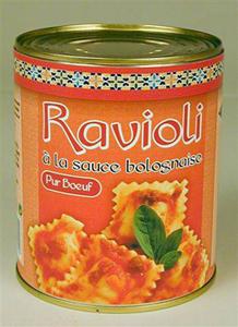 Ravioli bolognaise Halal 840g