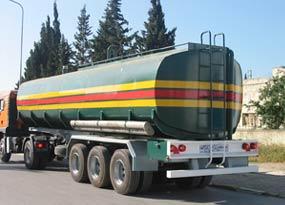 Semi Remorque Citerne à carburant