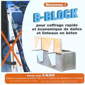 Accessoire de coffrage B-Block