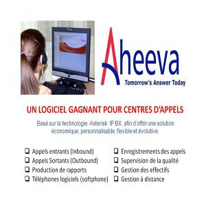 Solution pour centre d'appels AHEEVA  Contact Center