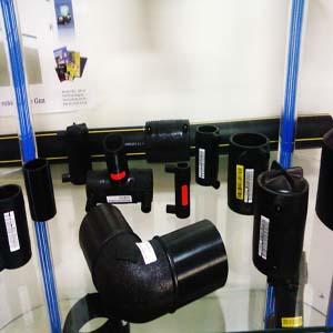 Accessoires en polyéthylène pour reseau distribution gaz