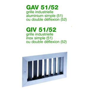 Grille industrielle aluminium / inox