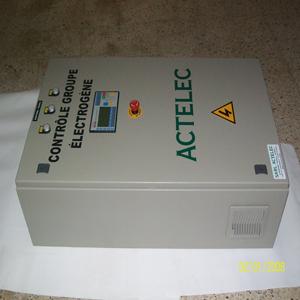 Coffrets de contrôle commande des groupes électrogènes