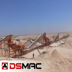 Ligne de concassage pour sable