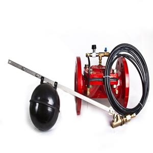 Vanne a flotteur hydraulique