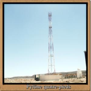 Pylone 4 pieds