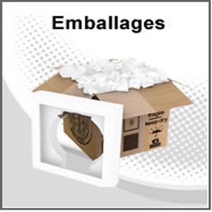 Emballage en polystyrene