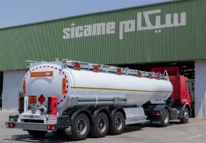Semi-remorques Citernes à carburant ou pour pétrole brut