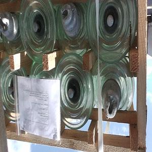 Isolateurs en verre