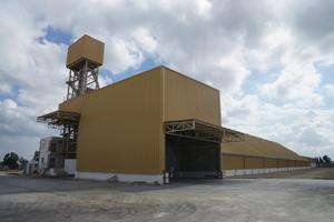 Construction dépôt de stockage