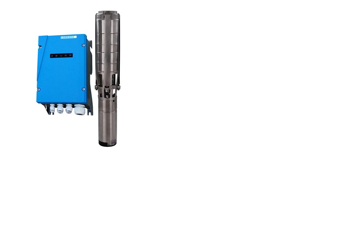 Pompe immergée solaire LORENTZ PS2-4000 C-SJ17-4