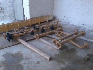Prefabrication tuyauterie noire