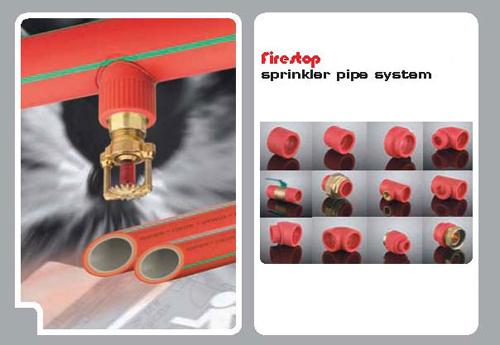Tube PPR stabilisé fire stop