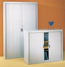 Armoire haute à portes coulissantes en PVC