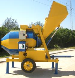 Bétonnière hydraulique reversible