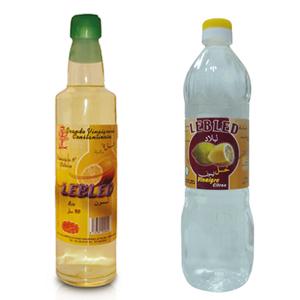 Vinaigre goût citron