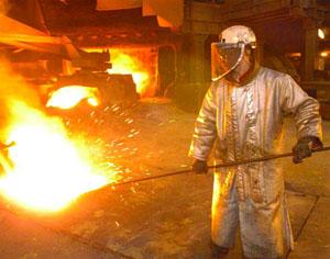 Fonderie de métaux