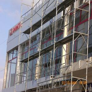 Revêtement en panneaux composites (Alucobest)