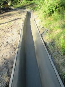 Travaux de drainage