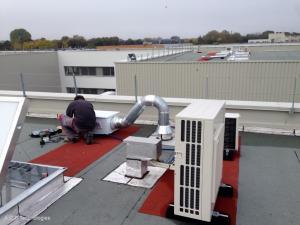 Installations de climatisation
