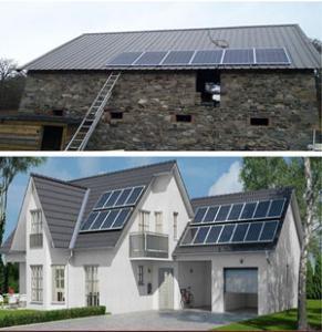 Kits habitations et électrifications rurales