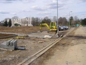 Travaux d'aménagement urbain