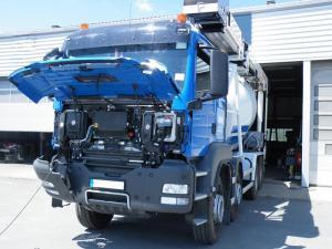 Maintenance préventive et curative des véhicules poids lourds