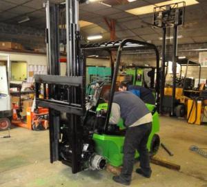 Réparation les équipements de manutention