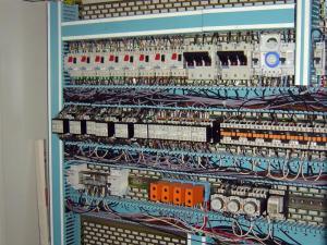 Travaux d'électricité industrielle