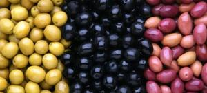 Olives toutes les variétés