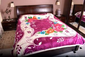 couvertures multi couleurs