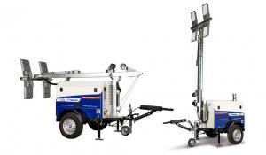GIRAFE LUMINEUSE (diesel & solaire)