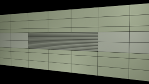 C/S Screening Louvers SL-3105