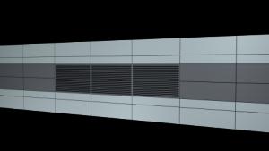 C/S Rain Defence Performance Louvers RSH-5700