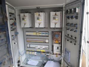 Armoire de commande & électricité générale