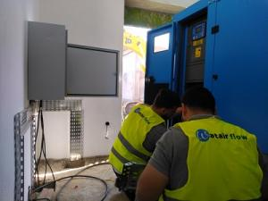 Installation groupe électrogène