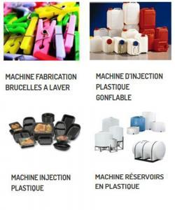MACHINES POUR L'INDUSTRIE PLASTIQUE