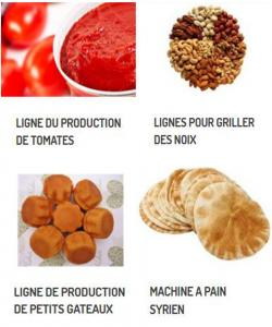 MACHINES TRAITEMENT ALIMENTAIRE