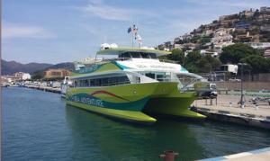 Catamaran de transport urbain