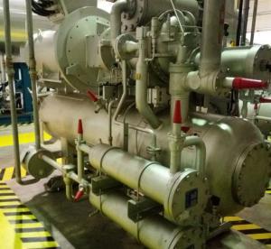 Installation des équipements industriels