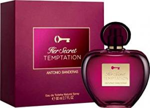 Antonio Banderas son Secret Temptation Eau de toilette en spray, 80 ml