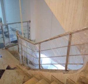Inox rampe d'escalier