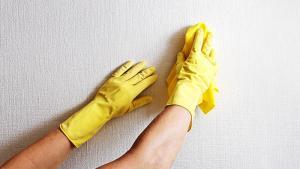 nettoyage des mur