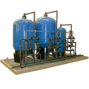 Déminéralisateur industriel avec conteneurs de résine