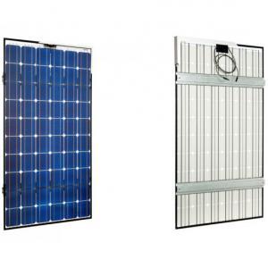 Panneau solaire monocristallin avec renforts arrières