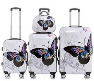 Lot 3 valises M, L, XL Butterfly