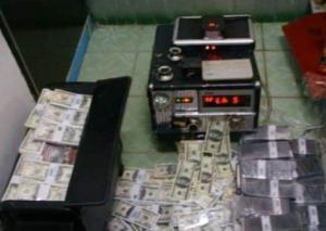 Nettoyage de billets d'argent