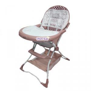 Chaise haute bébé sans roues