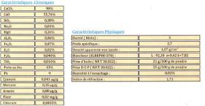 Carbonate de calcium CCE 74 µ