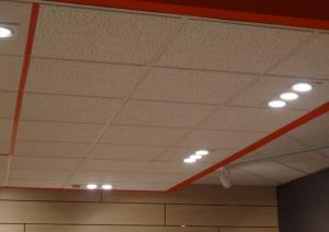 faux plafond laine minerale